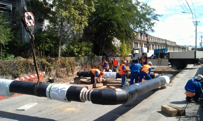 Construction of heating pipes